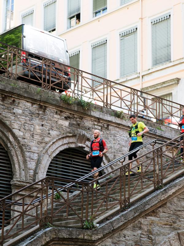 Escaliers de la croix-rousse - Lyon Urban Trail – Trail Urbain – LUT