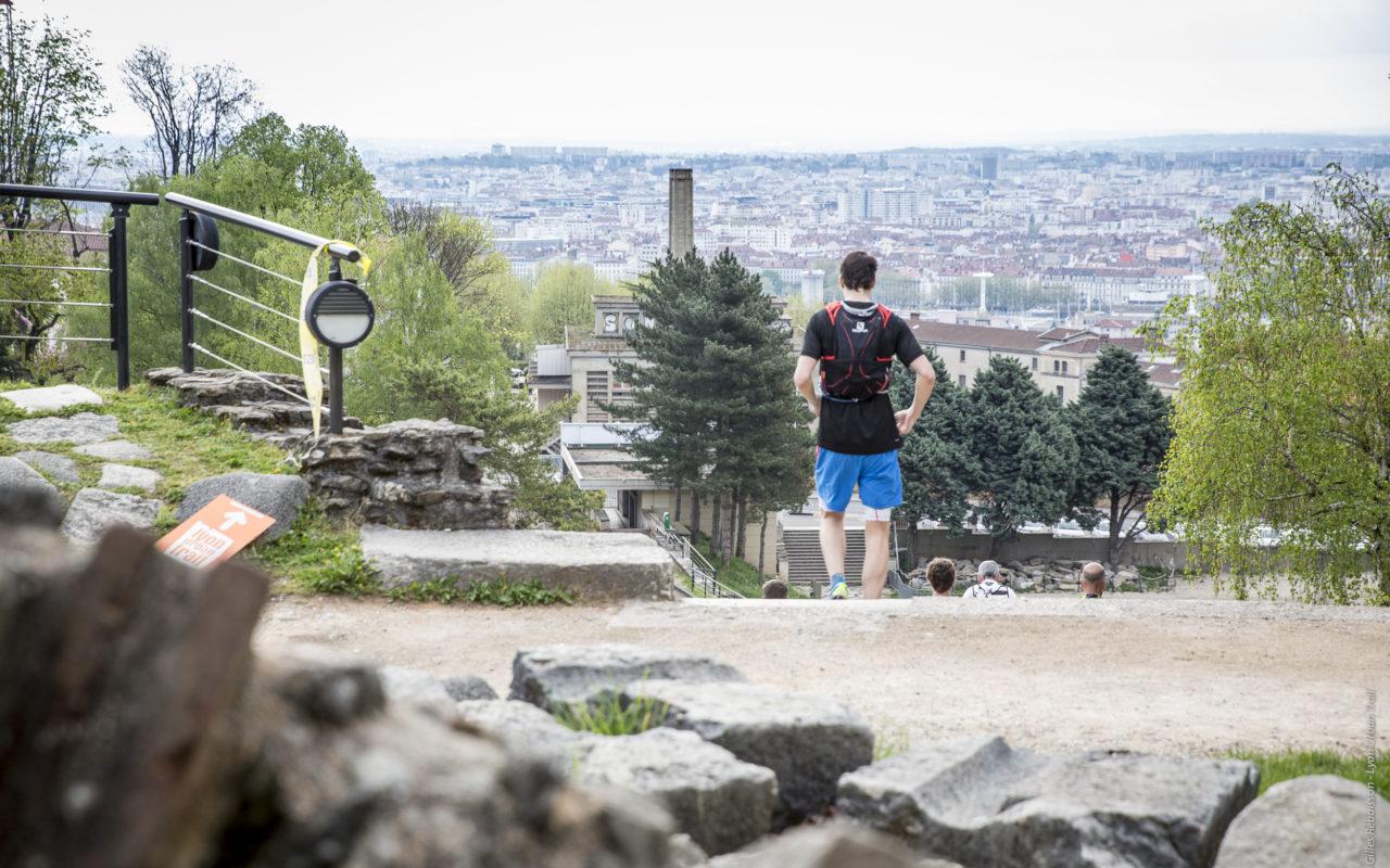 Théatre antique de Fuorvière - Lyon Urban Trail – Trail Urbain – LUT - © Gilles Reboisson