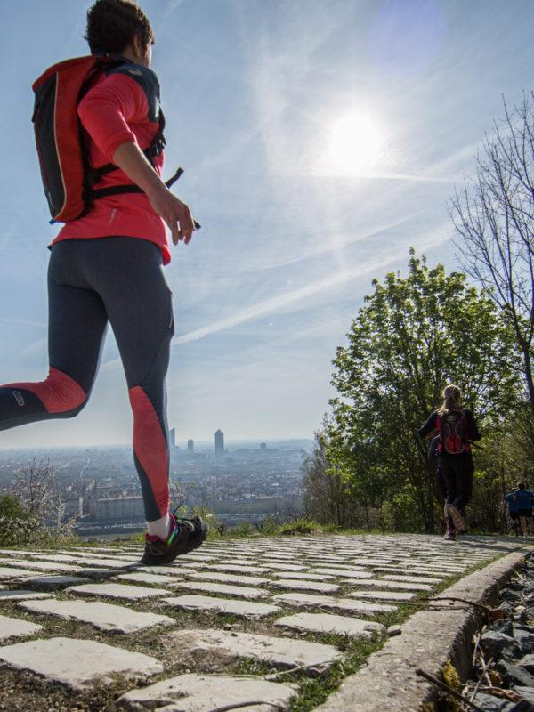 Colline de Fourvière - Lyon Urban Trail – Trail Urbain – LUT - © Gilles Reboisson