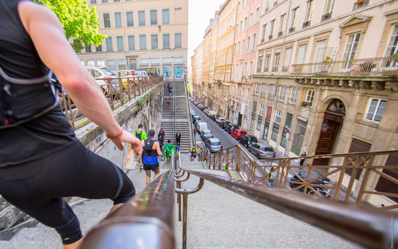 Colline de la croix-rousse - Lyon Urban Trail – Trail Urbain – LUT - © Gilles Reboisson