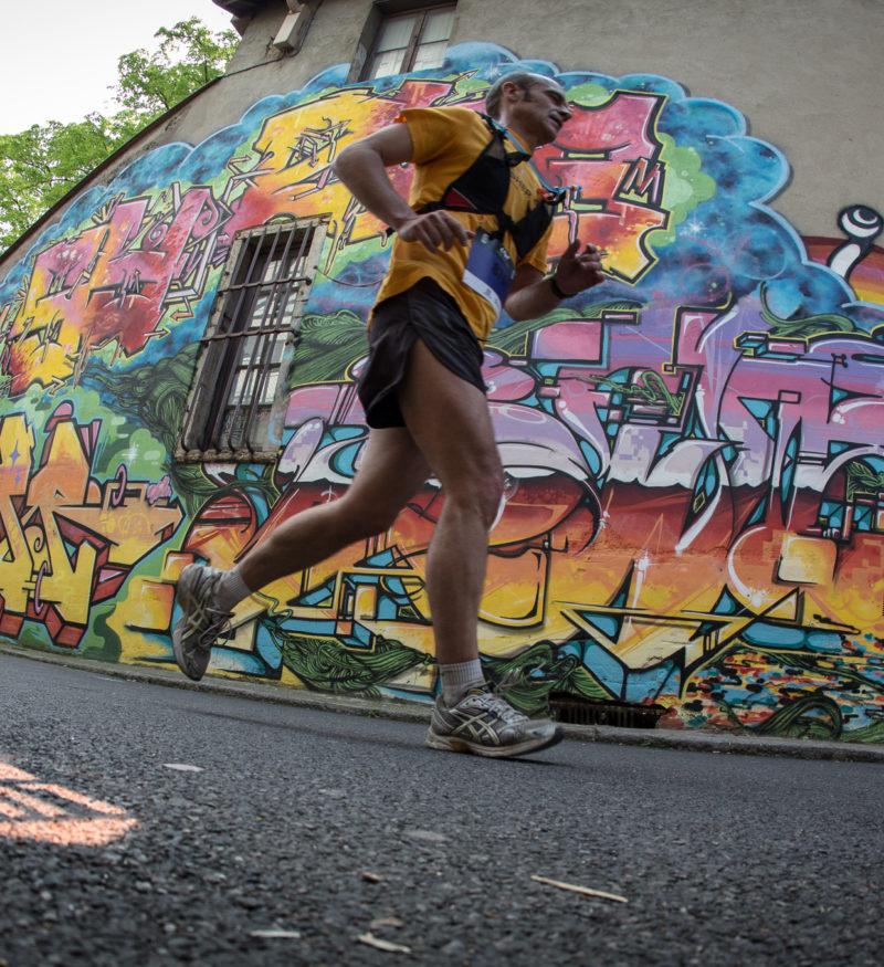 Course à pied colline de la Croix-Rousse - Lyon Urban Trail – Trail Urbain – LUT - © Gilles Reboisson